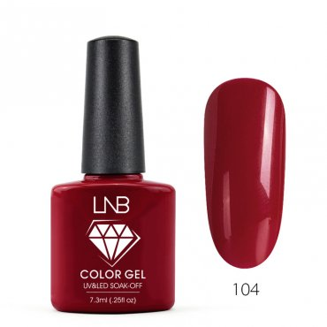 LNB COLOR GEL SOAK-OFF 7.3 ML 104