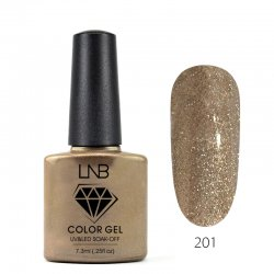 LNB COLOR GEL SOAK-OFF 7.3 ML 201