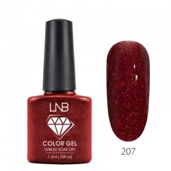 LNB COLOR GEL SOAK-OFF 7.3 ML 207