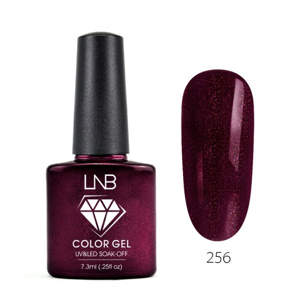 LNB COLOR GEL SOAK-OFF 7.3 ML 256