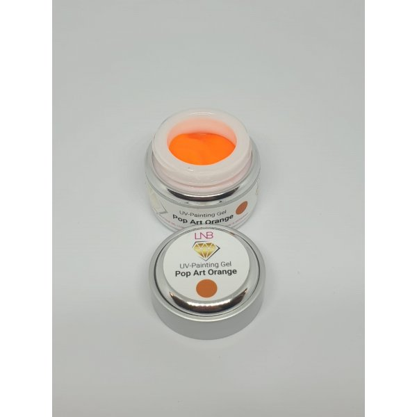 "PAINTING GEL  "" POP ART ORANGE "" LNB 5 ML"