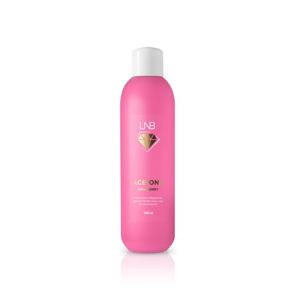 "ACETONA "" LNB "" STRAWBERRY 1000 ML"