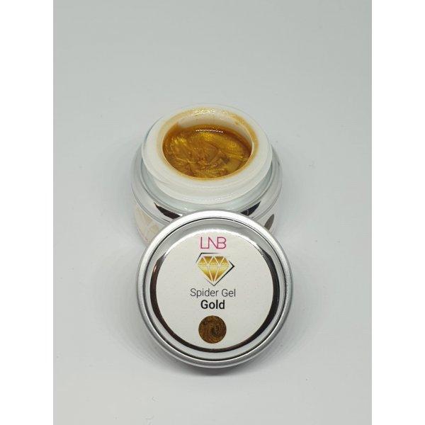"SPIDER GEL "" GOLD "" LNB 5 ML"