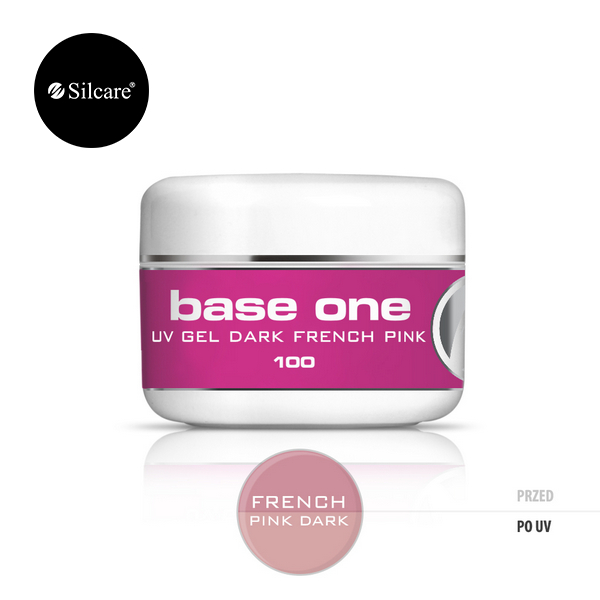 SILCARE BASE ONE DARK FRENCH PINK 100 GR