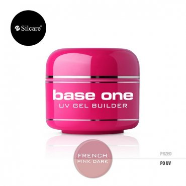 FRENCH PINK DARK SILCARE BASE ONE 50 GR.