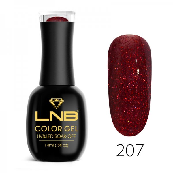 LNB COLOR GEL SOAK-OFF 14 ML 207