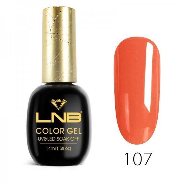 LNB COLOR GEL SOAK-OFF 14 ML 107