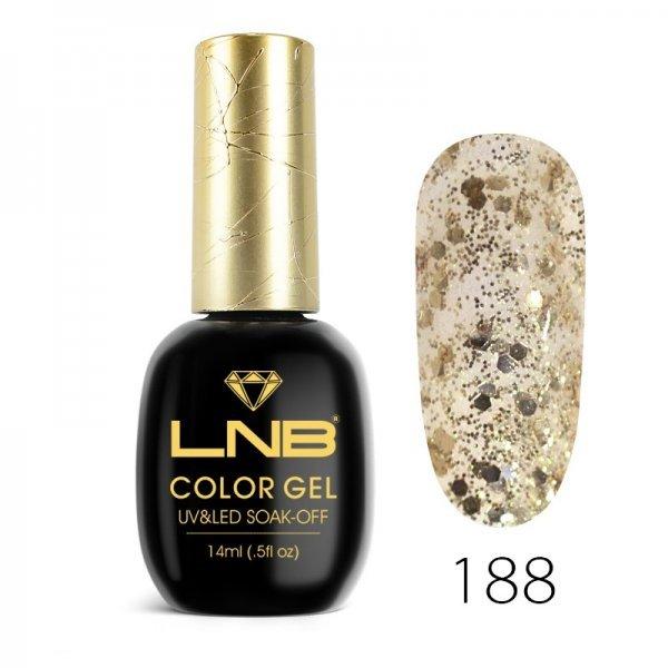 LNB COLOR GEL SOAK-OFF 14 ML 188