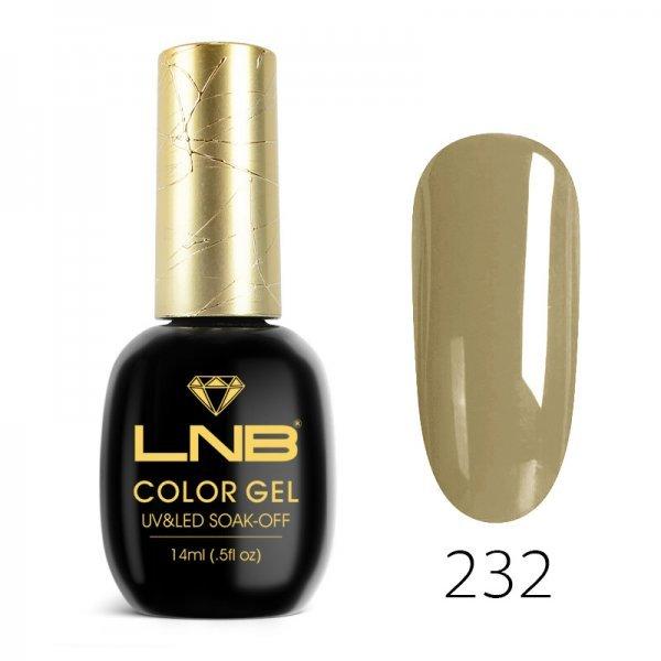 LNB COLOR GEL SOAK-OFF 14 ML 232