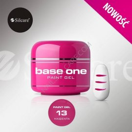 SILCARE BASE ONE PAINT GEL 13 MAGENTA 5 GR.