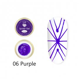 SPIDER GEL LNB 8 ML 06 PURPLE