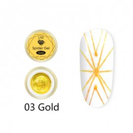 SPIDER GEL LNB  8 ML 03 GOLD